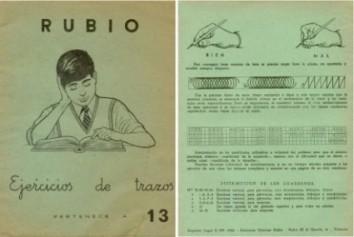 Cuadernos de caligrafía Rubio