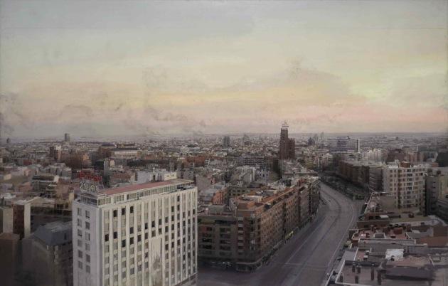 Madrid desde Torres Blancas Antonio López