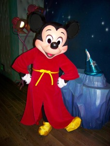 Mickey Mouse Aprendiz de Brujo