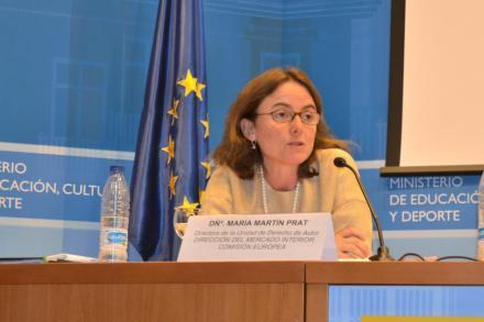 María Martín Prat. Fuente: MAPI