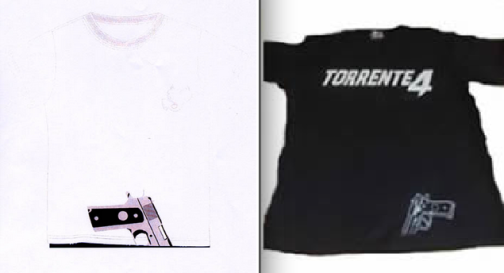 Comparativa Camisetas Diablito Torrente 4 Lethal Crisis